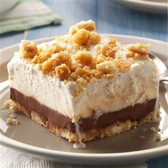 Easy Ice Cream Sundae Dessert-                                                     Chill out on hot summer days with these favorite ice cream cakes, pies, sandwiches and more ice cream desserts.