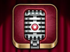 Microphone App Icon