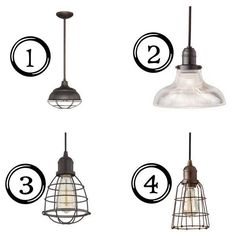 Industrial Pendant Light Options