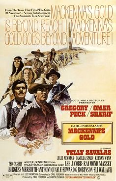 McKenna's Gold--not a great, but certainly an epic western.  The climactic earthquake scene has to be seen to be believed.