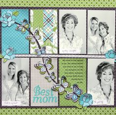 Ideas for Scrapbookers: Designer Showcase: Listen to Your Mother