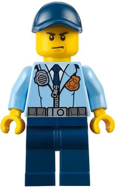Lego Police Woman Minifigure Girl Female Handcuffstommy Gunlong