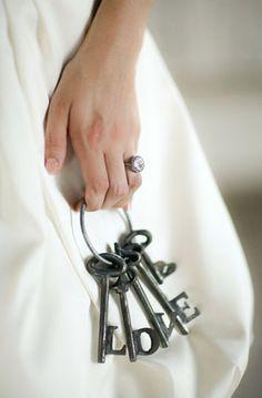 keys idea, life, skeleton keys, heart, first christmas, lock, inspir, christmas ornaments, thing