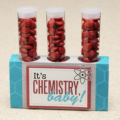 Valentine's Test Tube Candies