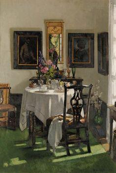 Patrick William Adam - The breakfast room, Ardilea; Dimensions: 35 X 25 in (88.9 X 63.5 cm)