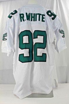 Philadelphia Eagles Reggie White  92 White Jersey 1992 Mitchell  amp  Ness  52  MitchellNess 2bd99f122