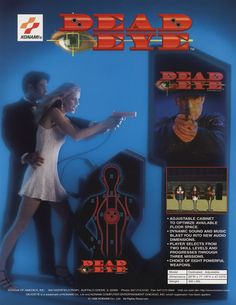 Dead Eye Konami game flyer