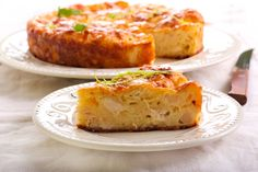 Crustless Chicken Cauliflower Quiche - This awesome little recipe can be adapted to whatever\'s in your fridge or garden!