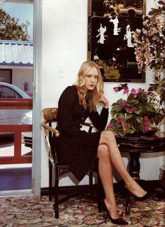 I love this photo of Chloe! Chlöe Sevigny, Los Angeles, by Stefan Ruiz…