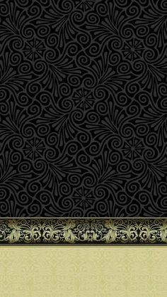 Black & Gold *✿**✿*W.PHONE*✿**✿*