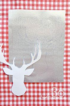 DIY Fabric Sign 1