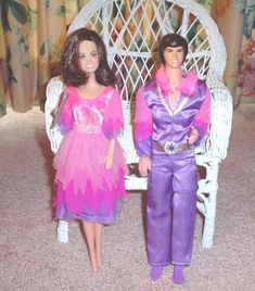 Donny and Marie dolls. When I lost my Donny's purple socks, my mother colored his feet with a magic marker.