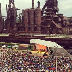 SteelStacks — Bethlehem, Pennsylvania | 19 Insanely Unique Concert Venues To Visit Before You Die