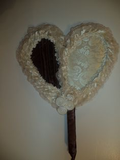 Heart shaped Chocolate & Cream delight with frills....You take my breath! away