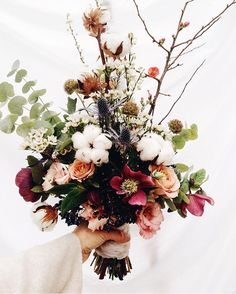Winter bouquet Gang and the wool