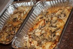 chicken marsala freezer meal