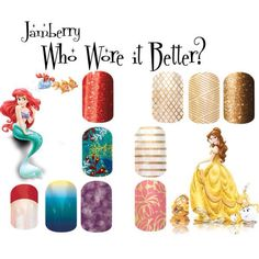 Jamberry Who wore it better?
