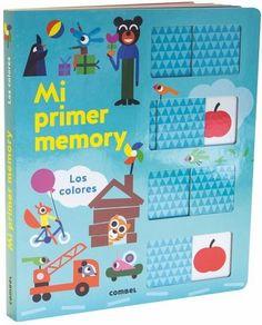 Mi primer memory. Los colores: Combel Editorial Tapas, Office Supplies, Editorial, Products, Kid Books, Activities, Proposals, Literatura