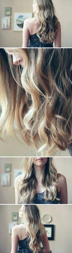 subtle ombre hair