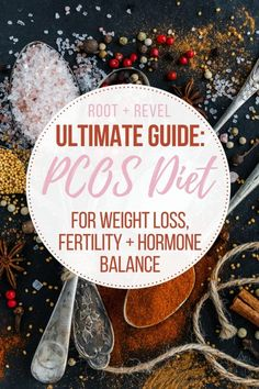 PCOS Diet for Weight Loss, Fertility + Hormone Balance Whether you're looking to lose weight, boost fertility or simply balance your hormones, if you ha Healthy Diet Plans, Healthy Weight, Healthy Eating, Diet Plans To Lose Weight, How To Lose Weight Fast, Lose Fat, Équilibrer Les Hormones, Pcos Meal Plan, Insulin Resistance Diet