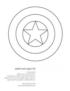 The best number coloring pages 1 5 http coloring for Captain america shield coloring page
