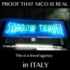 OMG!!!!!!!!!!! I'M COMING NICO!!!!!!!!!!!!!!!<< Costs for Booking a flight to Tartarus have fallen by 20% book your trip today with agent of the year, Nico di Angelo.