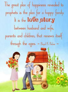 Living Your Love Story by Montserrat - a post celebrating the love story between husband and wife, parents and children for the celebration on The Family: A Proclamation to the World
