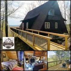Valley View Lodge is a 1920-square-foot A-frame dream located at the top of Schuss Mountain in northern Michigan. See details, rates and reviews:   #upnorth #bookdirect #itscabintime #travelmi