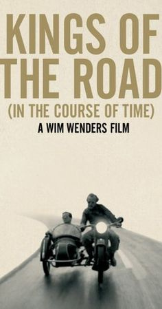 Directed by Wim Wenders.  With Rüdiger Vogler, Hanns Zischler, Lisa Kreuzer, Rudolf Schündler. A traveling projection-equipment mechanic works in Western Germany along the East-German border, visiting worn-out film-theatres. He meets up with a depressed young man whose marriage has just broken up, and the two decide to travel together.