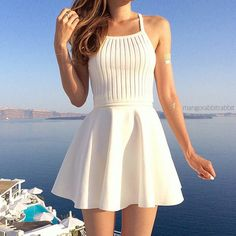 Chloe Crop Top - White