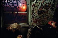 USA. New York City. 1980. Subway. Bruce Davidson