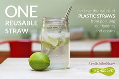 A plastic straw is a standard item used every day, but have you thought about how these non-biodegradable items and contribute to a larger problem?