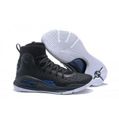11e897c9ea27 Under Armour Curry 4 More Range Men s Black White 1298306-014 Curry  Basketball Shoes
