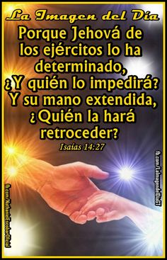 22 de octubre de 2014 - Si #Dios está contigo puedes triunfar, si su mano está extendida hacia ti, ¿Quén lo impedirá? #UnaVsinBniV