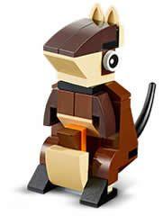 FREE LEGO Kangaroo Mini Model Build on http://www.icravefreebies.com/