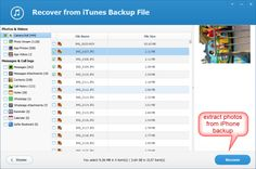 This article provide you an effective method to extract photos from iPhone backup with Jihosoft iTunes Backup Extractor Free .