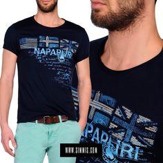Camiseta de hombre #Napapijri en nuestra tienda online.