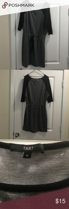 NWOT- tart dress gray/black sz large NWOT- tart large dress gray/black tart Dresses