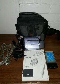 canon ntsc zr500 digital video camcorder ideas for the house rh pinterest com Users Manual Canon ZR500 Canon ZR500 MiniDV Camcorder