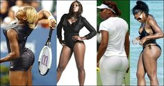 Serena Williams is as famous for her booty as she is for her tennis — but according to Serena herself, there's another woman out there whose butt puts hers to shame. Take a wild guess who… Venus And Serena Williams, My Black Is Beautiful, Sports Stars, Athletic Women, Big Butt, Tennis Players, Booty, Actresses, Female