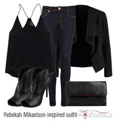 """Rebekah Mikaelson inspired outfit/TO"" by tvdsarahmichele ❤ liked on Polyvore featuring OPUS Fashion, Ted Baker, Wilfred Free, GUESS and Christian Louboutin"
