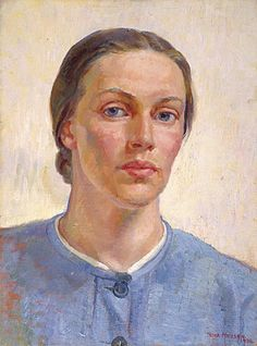 nora heysen, self portrait 1938 by deflam, via Flickr