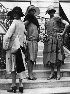 El fotografo Seeberger Freres retrato la moda urbana de los anos 20                                                                                                                                                     Más