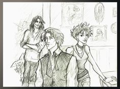 Remus Tonks and Sirius by Hillary-CW.deviantart.com
