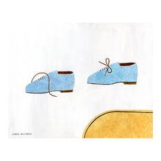 秋山花 「a pair of shoes」 Hana, Sunglasses Case, Sketches, Pairs, Simple, Drawings, Artist, Illustrator, Craft Ideas