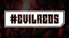 #evilreds typography