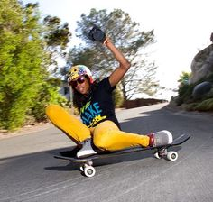 Such an amazing skater... Cami Best! Jeff Budro photo. #longboarding #SK8! O|~<]: