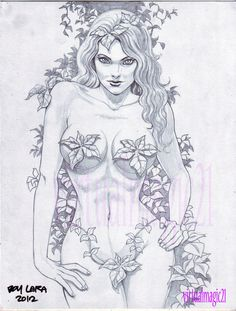 POISON IVY art by BOY LARA by rodelsm21