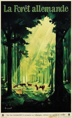 Forêt allemande - 1936 - (Wiertz Jupp) -