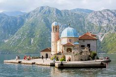 Our-Lady-of-the-Rocks offshore from Perast is a wonderful boat trip from Kotor. Image by Julian Love / Lonely Planet